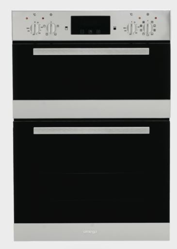 Omega 60cm Double Oven