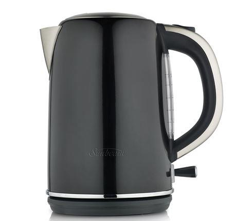 Sunbeam Simply Stylish Black Kettle