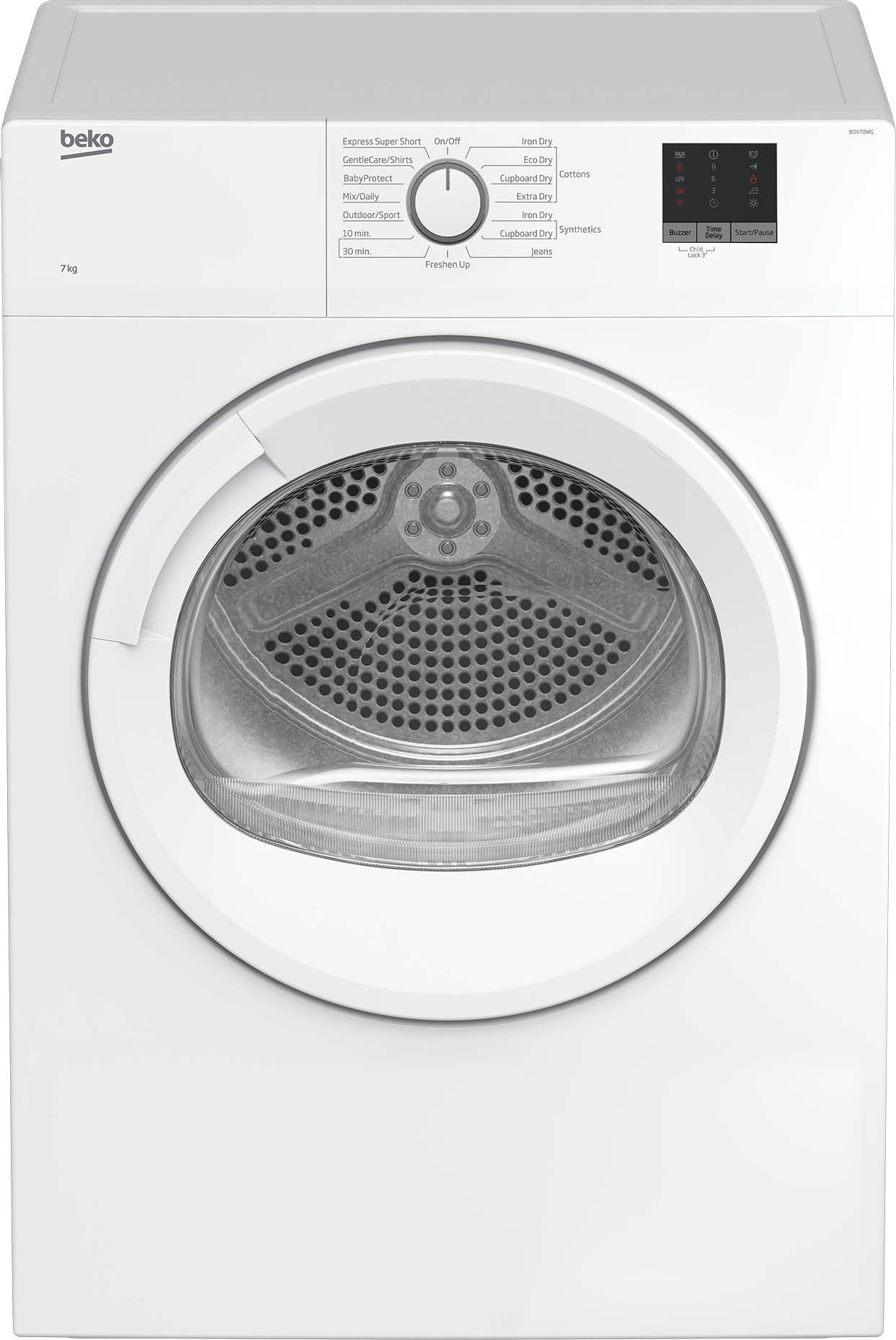 Tumble Dryer (Air Vented, 7 kg)