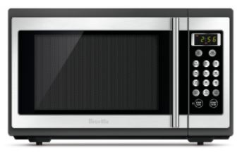 Sharp 800W Black/Silver Compact Microwave