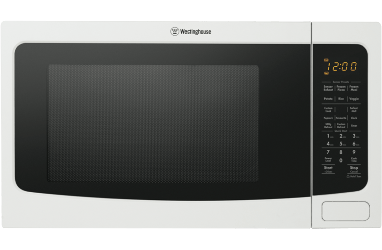 Westinghouse 40L 1100W Freestanding Microwave WHT