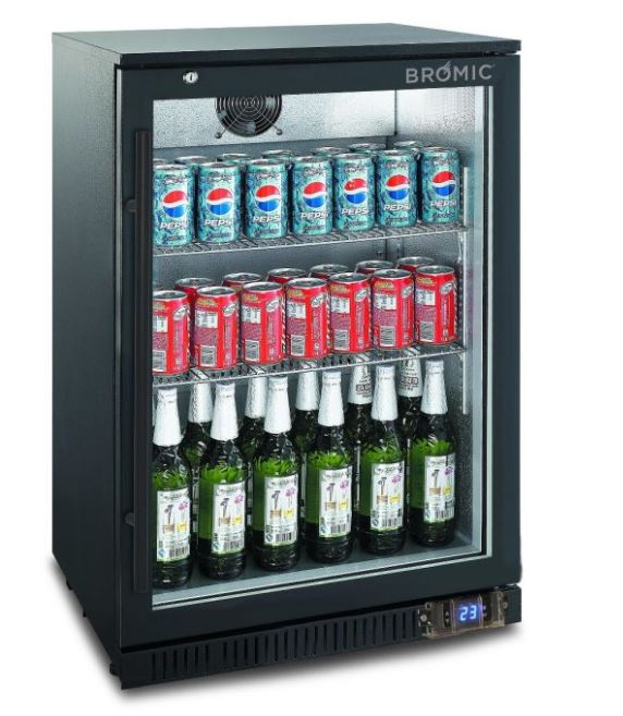 Bromioc Back Bar Display Chiller 118L