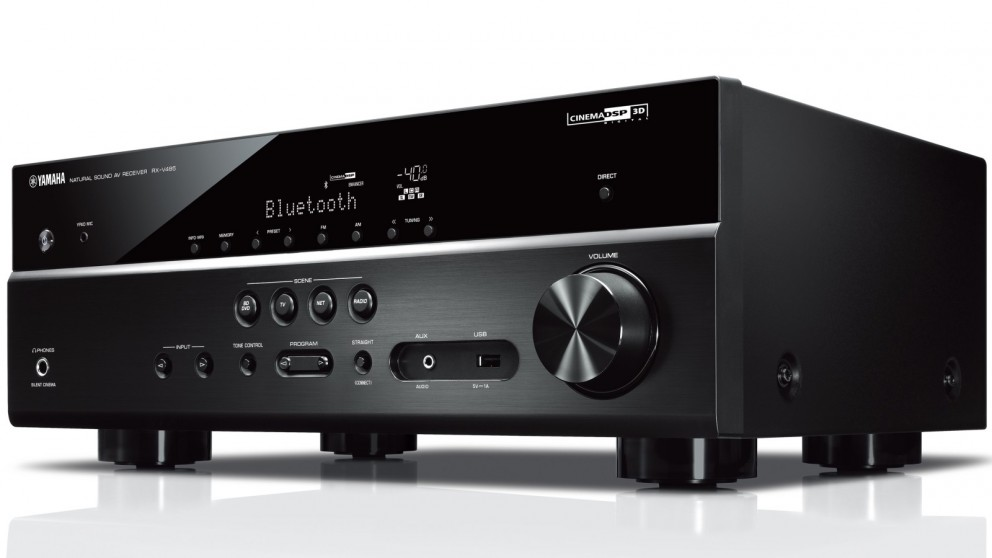 Yamaha RXV485B 5.1 Channel AV Receiver