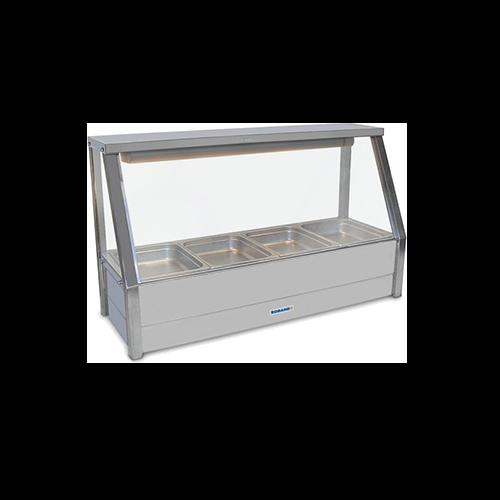 Roband Straight Glass Hot Food Display Bar