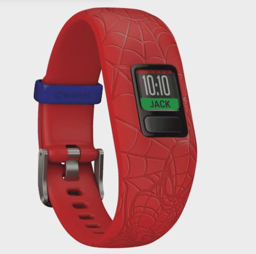 Garmin vivofit jr2 Spider-Man Red