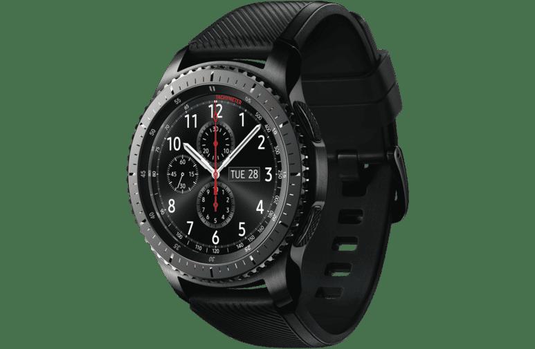 Gear S3 Frontier Black