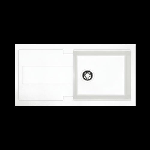 Franke Bali White Single Bowl Inset Sink
