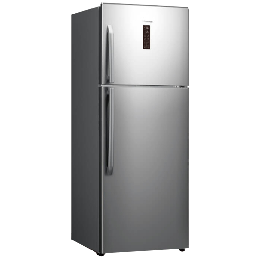 Hisense 436L Top Mount Fridge SS