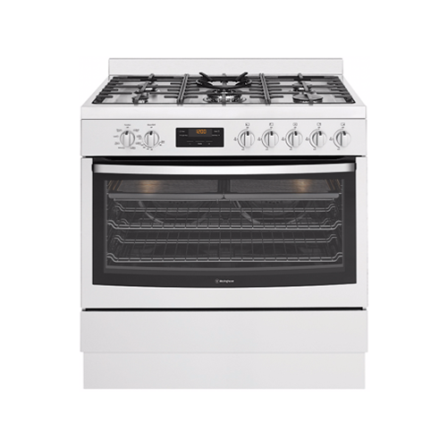 Westinghouse 90cm Dual Fuel Freestanding Oven SS