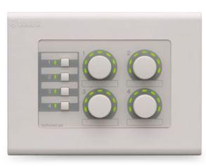 Yamaha 4 switch, 4 volume MTX Digital Control Panel.