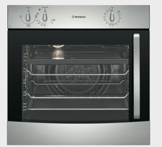 Westinghouse 60cm Electric Oven  w/ L Hand Hinge