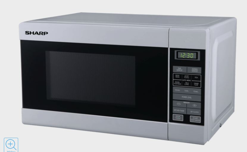 Sharp R210D(W) white microwave
