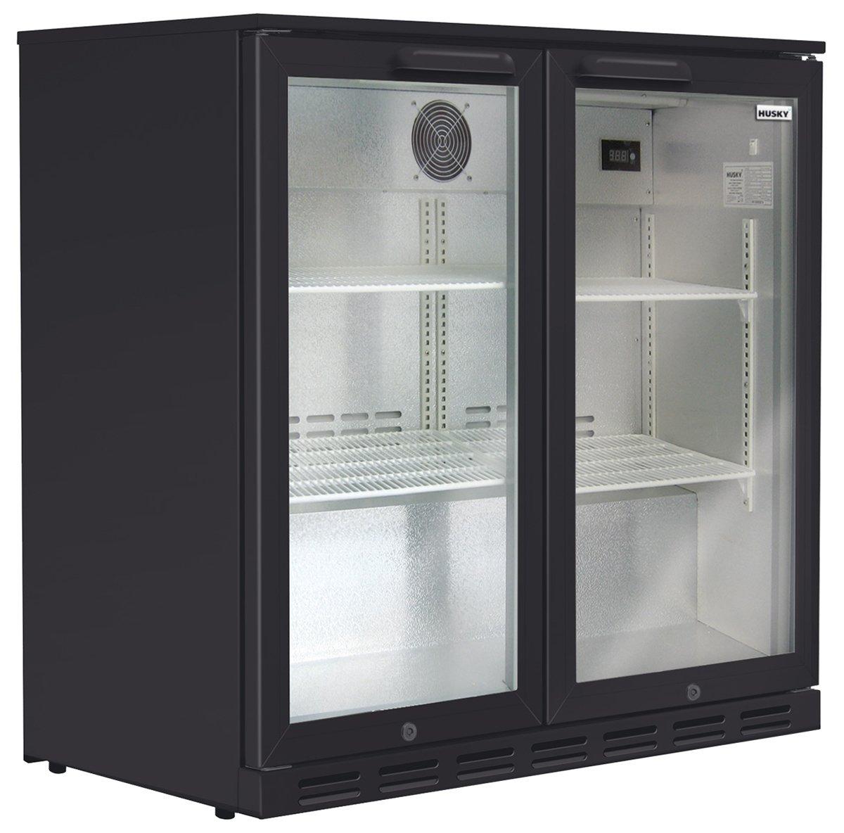 Husky HUS-C2-840-BLK 190L Beverage Centre