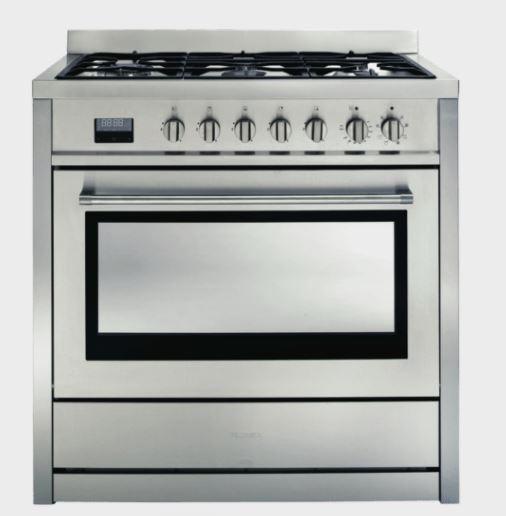 Smeg 90cm Dual Fuel Upright Cooker