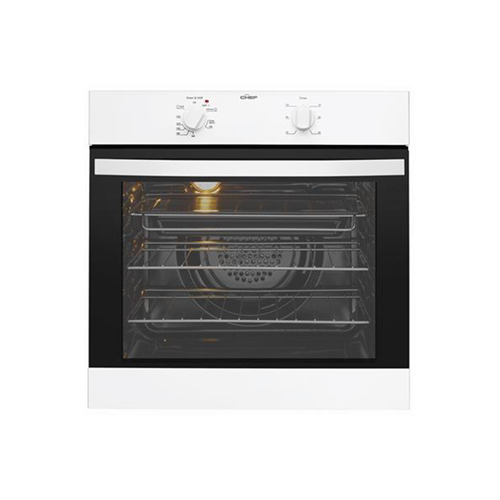 Chef 60cm Multifunction Electric Oven White
