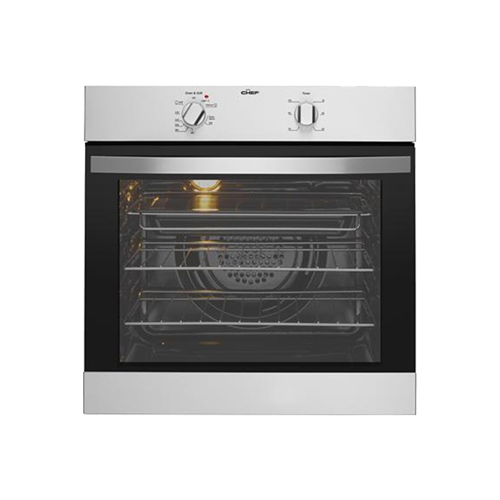 Chef 60cm Multifunction Electric Oven SS