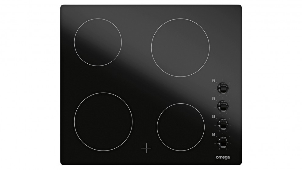 Omega 60cm 4 Zone Ceramic Cooktop