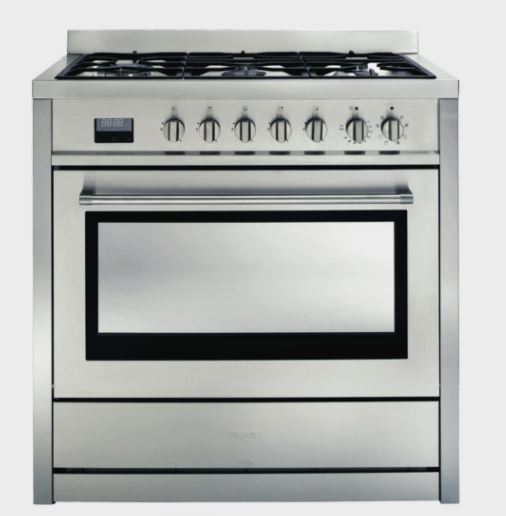 Technika TEG95DUA 90cm Dual Fuel Upright Cooker